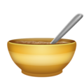 Bowl With Spoon on Emojipedia 11.1
