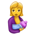 Breast-Feeding on Emojipedia 11.1