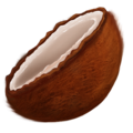 Coconut on Emojipedia 11.1