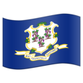 Flag for Connecticut (US-CT) on Emojipedia 11.1