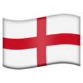 Flag: England on Emojipedia 11.1