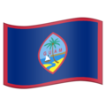 Flag for Guam (US-GU) on Emojipedia 11.1