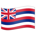 Flag for Hawaii (US-HI) on Emojipedia 11.1
