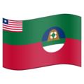 Flag for Margibi (LR-MG) on Emojipedia 11.1