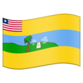 Flag for Maryland (LR-MY) on Emojipedia 11.1