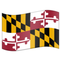 Flag for Maryland (US-MD) on Emojipedia 11.1