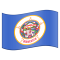 Flag for Minnesota (US-MN) on Emojipedia 11.1