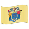 Flag for New Jersey (US-NJ) on Emojipedia 11.1