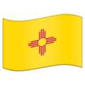 Flag for New Mexico (US-NM) on Emojipedia 11.1