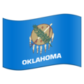 Flag for Oklahoma (US-OK) on Emojipedia 11.1