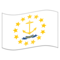 Flag for Rhode Island (US-RI) on Emojipedia 11.1