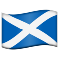 Flag: Scotland on Emojipedia 11.1