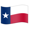 Flag for Texas (US-TX) on Emojipedia 11.1