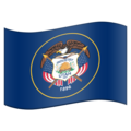 Flag for Utah (US-UT) on Emojipedia 11.1