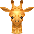 Giraffe on Emojipedia 11.1