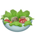 Green Salad on Emojipedia 11.1