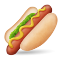 Hot Dog on Emojipedia 11.1