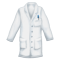 Lab Coat on Emojipedia 11.1