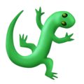 Lizard on Emojipedia 11.1