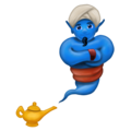 Man Genie on Emojipedia 11.1