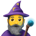 Man Mage on Emojipedia 11.1