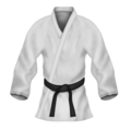 Martial Arts Uniform on Emojipedia 11.1
