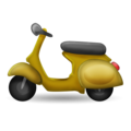 Motor Scooter on Emojipedia 11.1