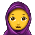 Woman With Headscarf on Emojipedia 11.1