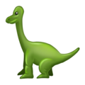 Sauropod on Emojipedia 11.1