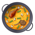 Shallow Pan of Food on Emojipedia 11.1