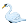 Swan on Emojipedia 11.1