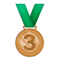 3rd Place Medal on Emojipedia 11.1