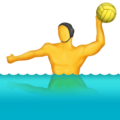 Person Playing Water Polo on Emojipedia 11.1