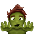 Zombie on Emojipedia 11.1