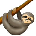 Sloth on Emojipedia 12.0