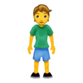 Standing Person on Emojipedia 12.0