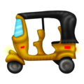 Auto Rickshaw on Emojipedia 12.0