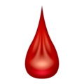 Drop of Blood on Emojipedia 12.0