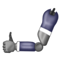 Mechanical Arm on Emojipedia 12.0