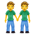 People Holding Hands on Emojipedia 12.0