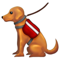 Service Dog on Emojipedia 12.0
