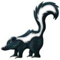 Skunk on Emojipedia 12.0