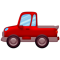 Pickup Truck on Emojipedia 13.0