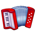 Accordion on Emojipedia 13.0