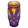 Long Drum on Emojipedia 13.0