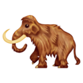 Mammoth on Emojipedia 13.0