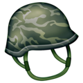 Military Helmet on Emojipedia 13.0