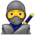 Ninja on Emojipedia 13.0