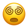 Face with Spiral Eyes on Emojipedia 13.1