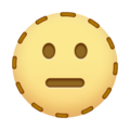 Dotted Line Face on Emojipedia 14.0